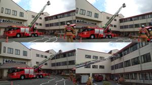 消防訓練⑨